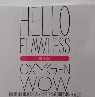 Benefit Cosmetics Mini Hello Flawless Oxygen WOW Foundation Brightening Makeup 3ml by