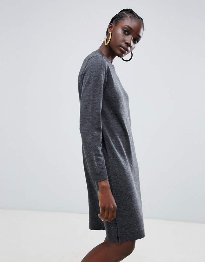 Selected Eileen wool blend sweater dress