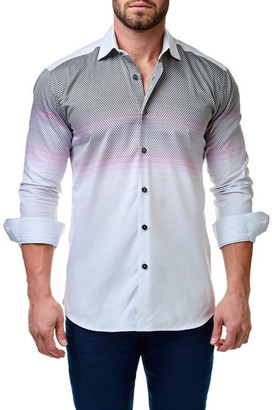 Maceoo Somelos Trim Fit Check Sport Shirt (Big & Tall Available) $169 thestylecure.com