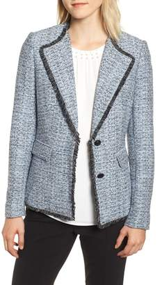 Karl Lagerfeld PARIS Wing Collar Jacket