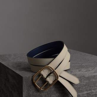 Burberry Reversible Double-strap Leather Belt , Size: 85