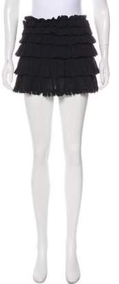 Anine Bing Ruffled Mini skirt