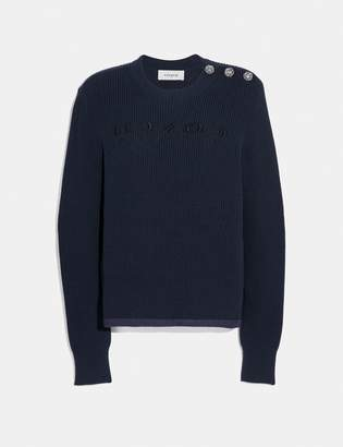 Coach Reverse Sweater