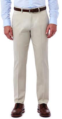 Haggar Premium No Iron Slim-Fit Flat-Front Khakis