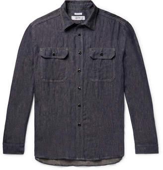 Freemans Sporting Club Slub Linen-Twill Shirt