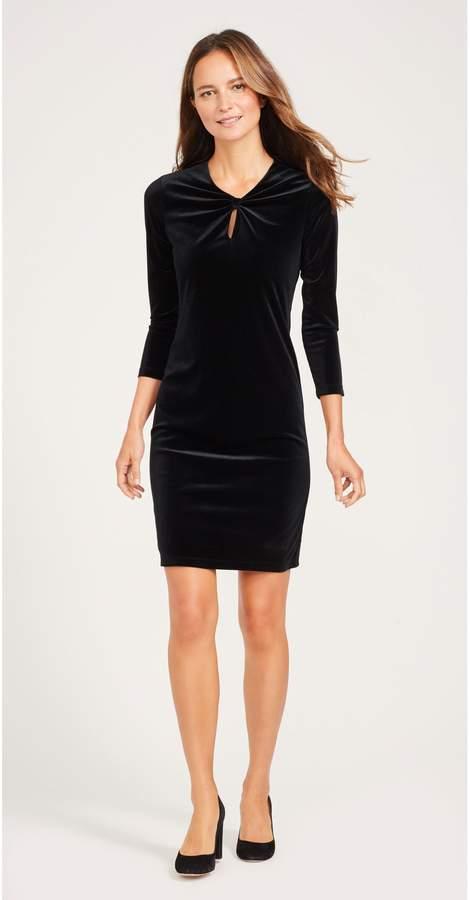 Ellie Velour Dress