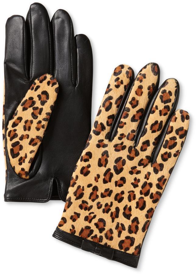 Banana Republic Haircalf Bow Glove