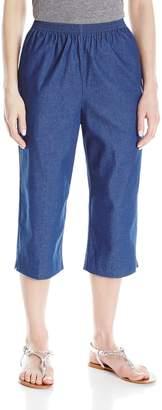 Alfred Dunner Women'S Petite Jean Capri, Jean, 12P