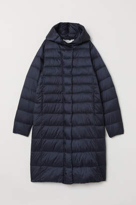 H&M Padded Hooded Jacket - Blue