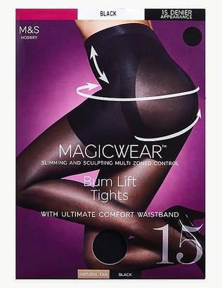 "Marks and Spencer 15 Denier Magicwearâ""¢ Matt Body Shaper Tights"
