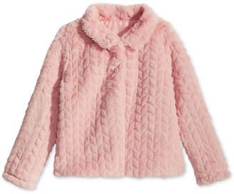 Epic Threads Toddler Girls Faux Fur Jacket, Created for Macy's