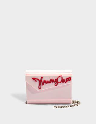 Jimmy Choo 'JIMMY CHOO' Candy clutch