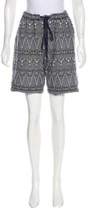 Chanel Cashmere Knee-Length Shorts