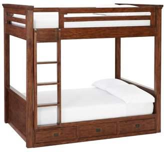 Pottery Barn Teen Oxford Bunk Bed, Twin, Tuscan