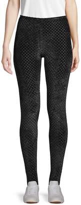 BCBGMAXAZRIA Textured Stretch Leggings