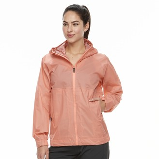 adidas Outdoor Women's Outdoor Fastpack 2.5-Layer climaproof Hooded Rain Jacket