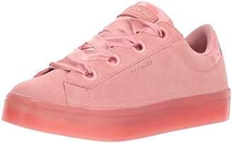 Skechers Street Women's Hi-Lite-Suede Satin Sneaker