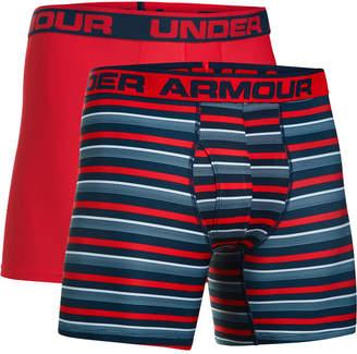Under Armour Men's 2-Pk. HeatGear Boxer Briefs