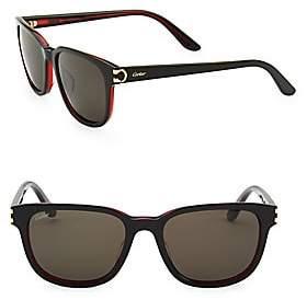 Cartier Men's Essentiel Round Sunglasses