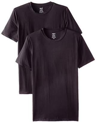 Naked Men's 2-Pack Essentials Crew Neck T-Shirt