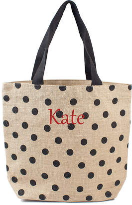 Cathy's Concepts CATHYS CONCEPTS Personalized Polka Dot Tote