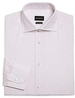 Ermenegildo Zegna Men's Printed Dress Shirt