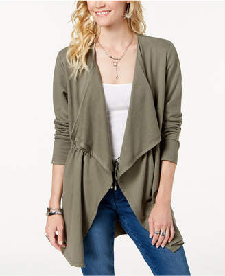 Style&Co. Style & Co Draped-Front Jacket