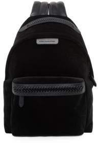 Stella McCartney Falabella Medium Velvet & Faux Leather Backpack