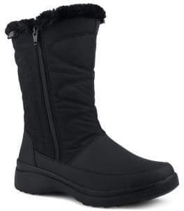 London Fog Piper Faux Fur Trimmed Waterproof Boots