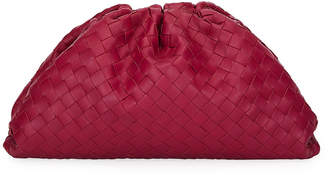 Bottega Veneta The Pouch Intrecciato Clutch Bag