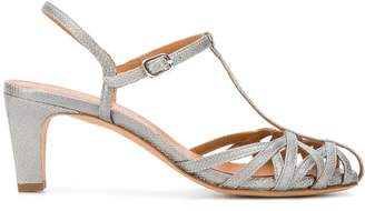 Chie Mihara fish scale strappy sandals
