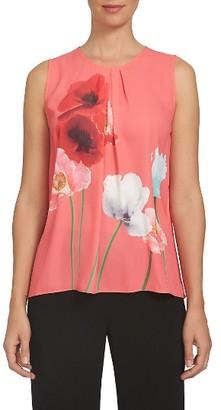 Women's Cece Floral Print Shell $89 thestylecure.com