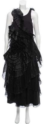 Dries Van Noten Ruffled Maxi Dress