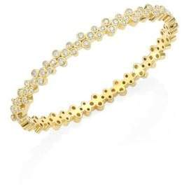 Temple St. Clair Trio Eternity Diamond Bangle
