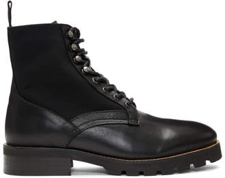 H By Hudson Black Elmore Boots