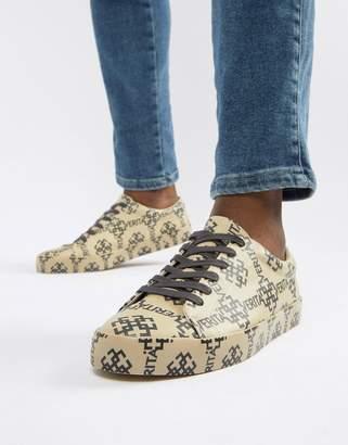 Asos Design DESIGN sneakers in all over print