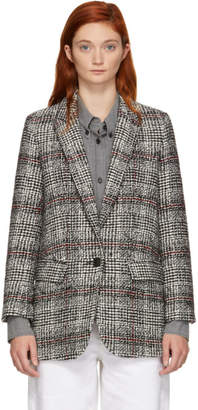 Etoile Isabel Marant Black and White Ice Blazer