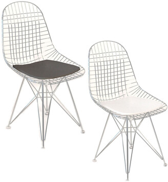 Pangea Set Of 2 Radar Dining Chairs