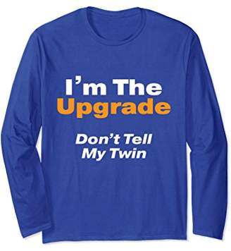 Twin Shirts for Adults - Older Twin Long Sleeve T-Shirt