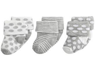 Jefferies Socks Turn Cuff 3 Pack (Infant/Toddler)