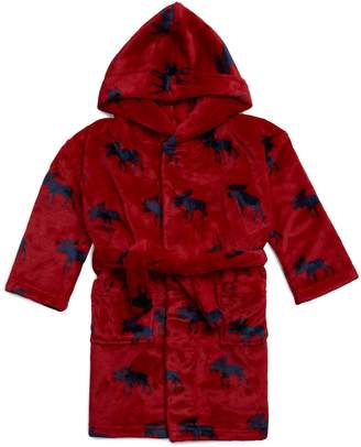 Hatley Moose Hooded Bath Robe