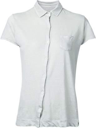 Massimo Alba off-center button fastening shirt