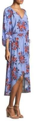Parker Xiomara Floral Hi-Lo Dress
