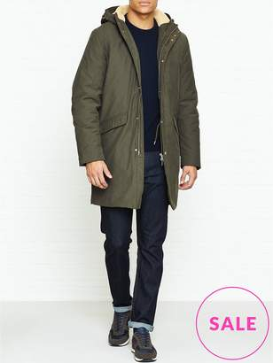 Whistles Clean Long Length Parka