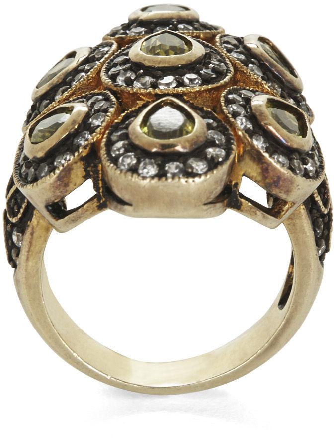 BCBGMAXAZRIA Teardrop Stone Ring