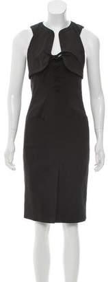 Altuzarra Sleeveless Lace-Up Mini Dress