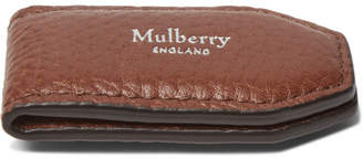 Mulberry Full-Grain Leather Money Clip - Tan