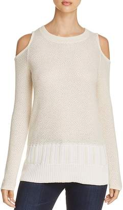 Design History Cold-Shoulder Sweater $112 thestylecure.com