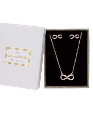 Jon Richard Infinity Jewellery Set