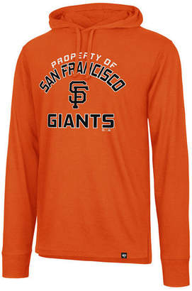 '47 Men's San Francisco Giants Prop Arch Long Sleeve Hooded T-Shirt